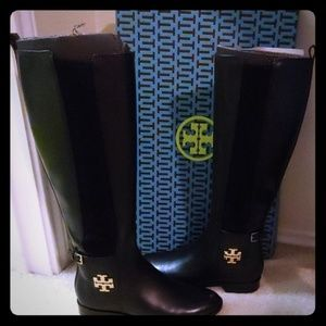 Tory Burch Wyatt Black knee high boot Size: 7